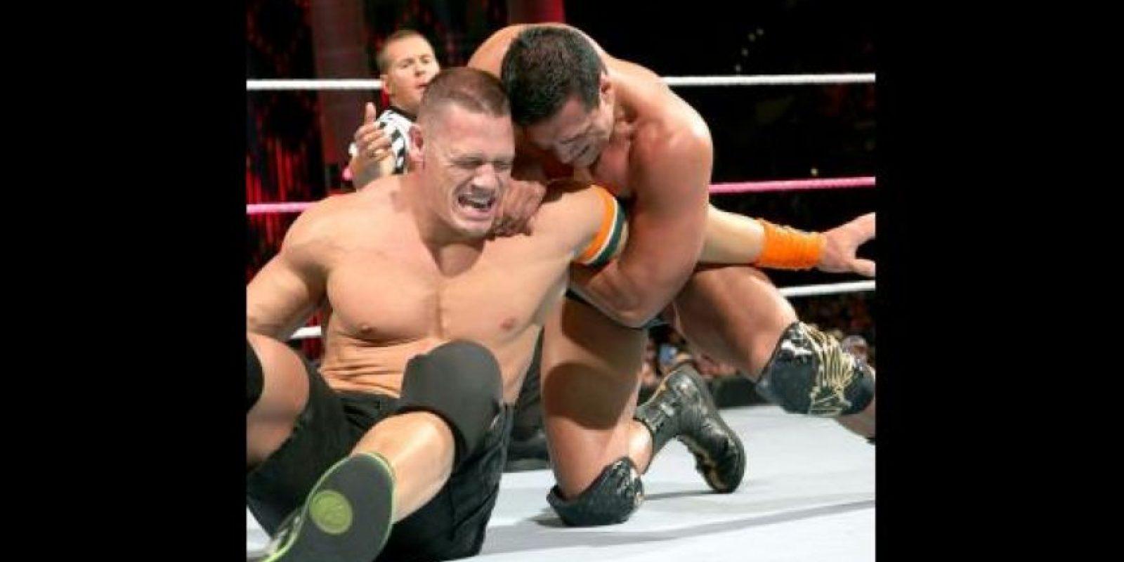 6. Jugaba como centro. Foto:WWE