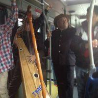 Concierto de joropo en TransMilenio Foto:Transmileniadas fotográficas / Facebook