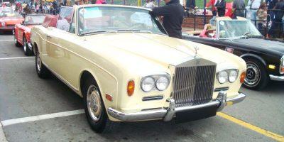 En la exposición se presentará este Rolls-Royce, que compite regularmente en el Autódromo de Tocancipá en el Circuito San Diego. Foto:Cortesía