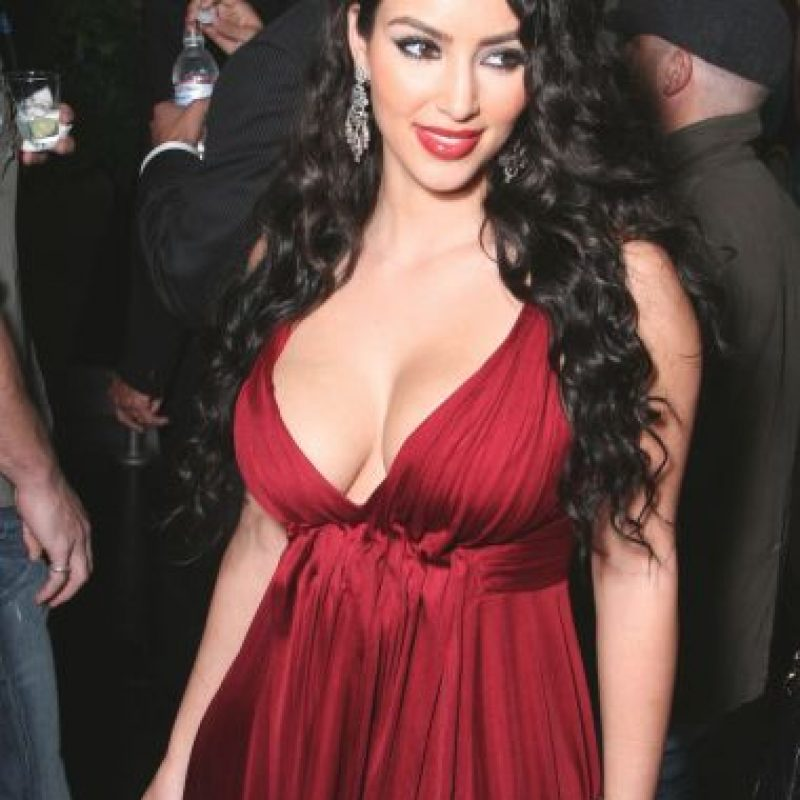 Así era Kim Kardashian antes de su gran salto a la fama. Foto:Getty Images
