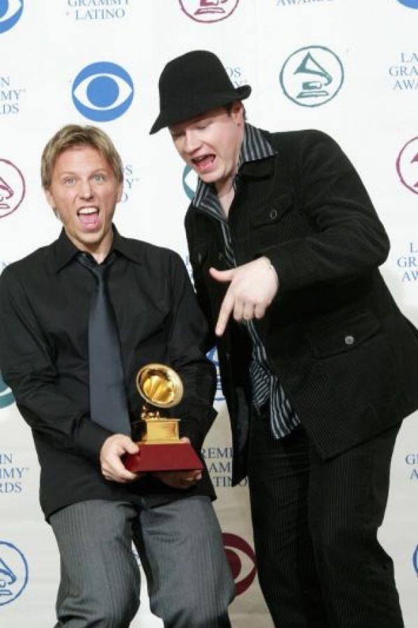 En aquel año, ganaron su primer Grammy como mejor dueto. Foto:Getty Images