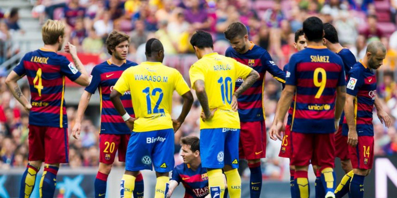 Messi se lesionó el pasado 20 de septiembre Foto:Getty Images