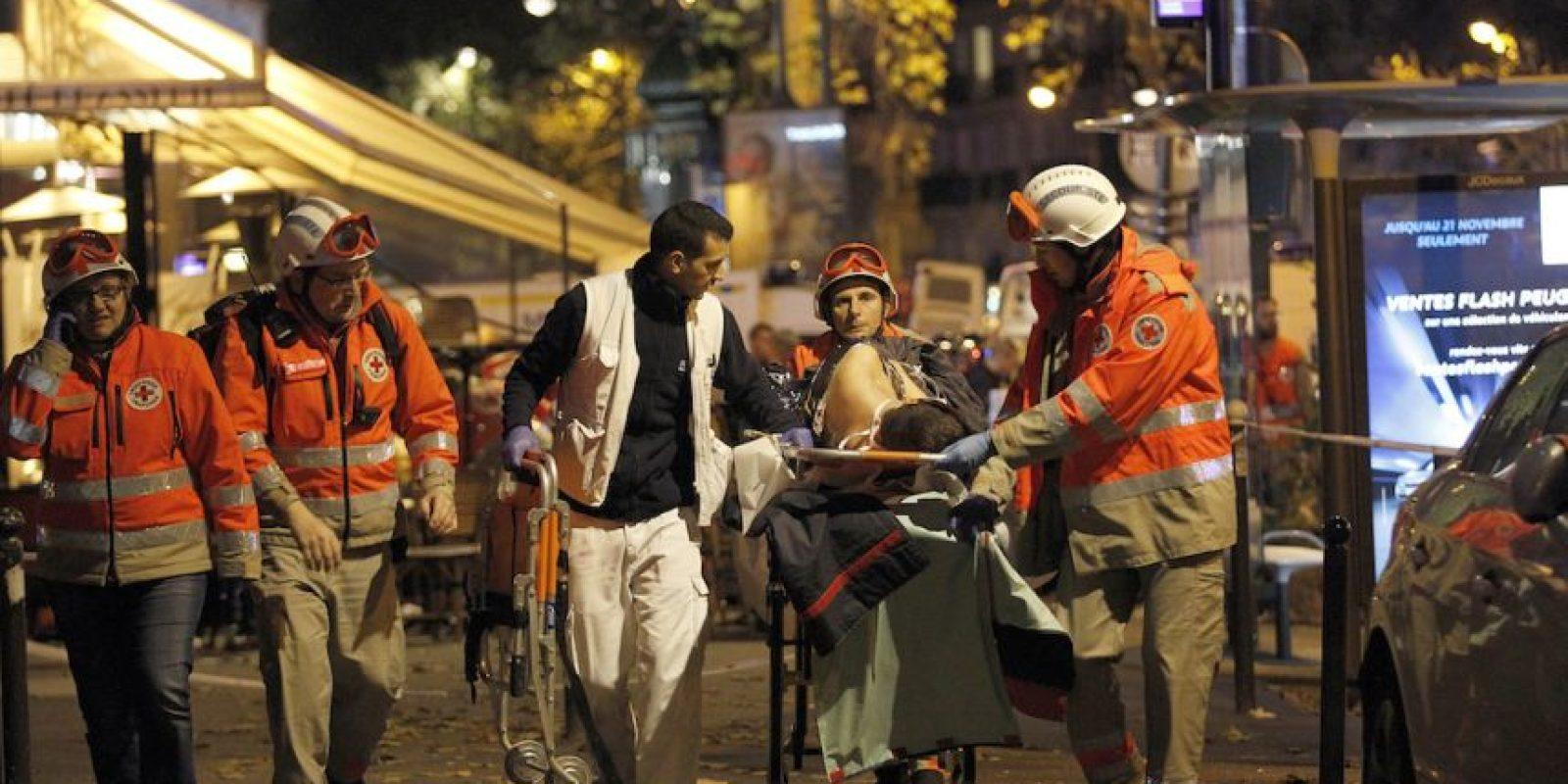 Francia sufrió los peores atentados en el país desde la Segunda Guerra Mundial. Foto:Getty Images