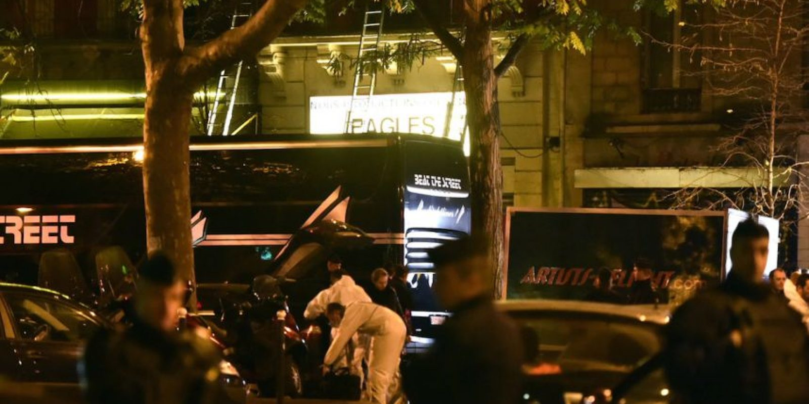 En el Bataclan fallecieron 100 personas. Foto: Getty Images