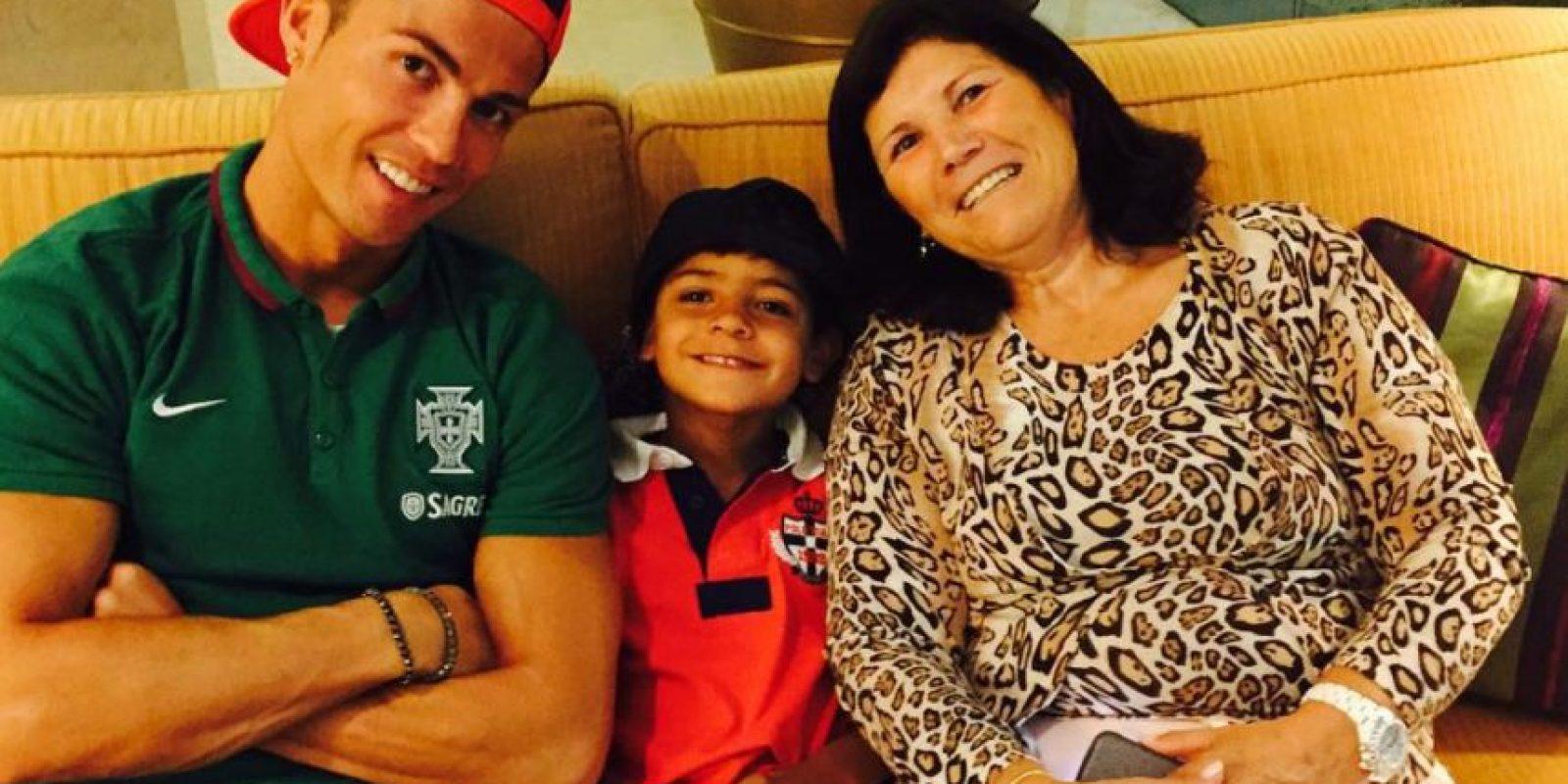 Las mejores imágenes de Cristiano Ronaldo y su hijo Foto:Vía instagram.com/cristiano