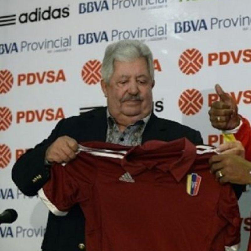 Rafael Esquivel. Venezolano, 69 años. Exmiembro del Comité Ejecutivo de la Conmebol y expresidente de la Federación Venezolana de Fútbol Foto:Getty Images