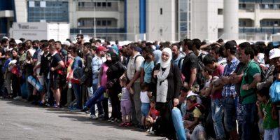 1. Según la Organización Internacional para las Migraciones (OIM), en lo que va de año han muerto tres mil 511 personas en la ruta del Mediterráneo. Foto:AFP