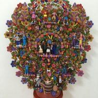 Árbol de la vida con todos los personajes. Foto:Nicolás Corte