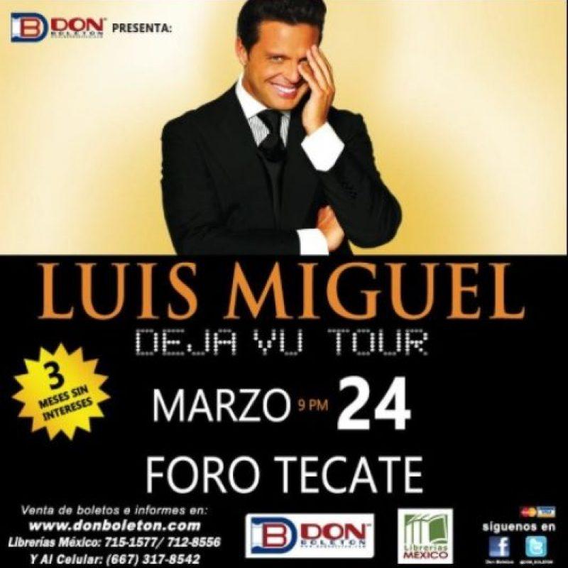 MARZO: Canceló su show en el Foro Tecate, esto después de que sus boletos no se vendieran como esperaba. Foto:vía twitter.com