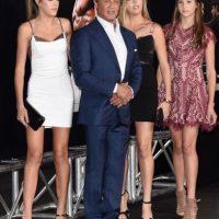 Pero… ¿quiénes son las herederas de Stallone? Foto:Getty Images