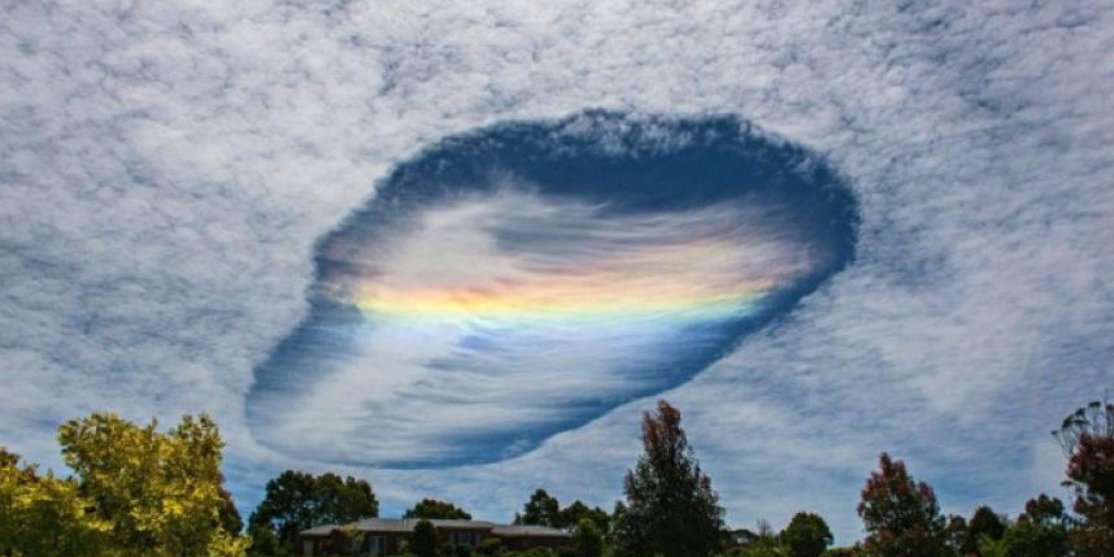 1. Así se vio la nube en Australia hace unas semanas Foto:Imgur.com/gallery/1lN62mo