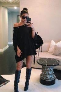 Kylie actualmente es novia del rapero Tyga. Foto:Instagram/kyliejenner
