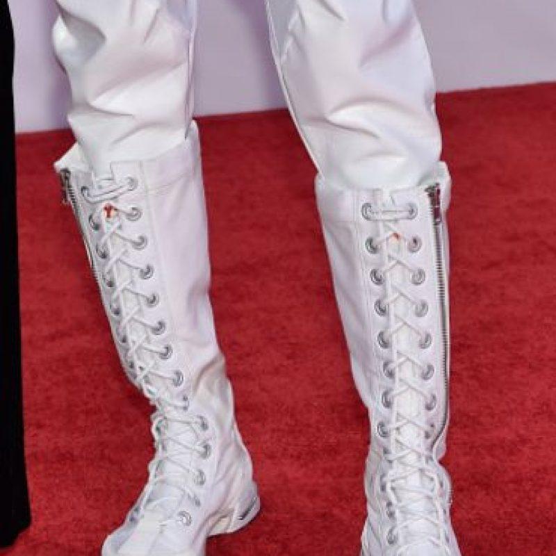Vean las botas. Foto:vía Getty Images