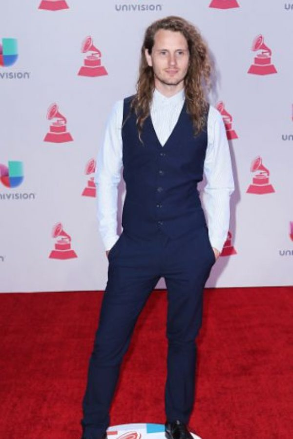 Andrés Nusser, como si estuviera en una película de época de Joe Wright. Foto:vía Getty Images