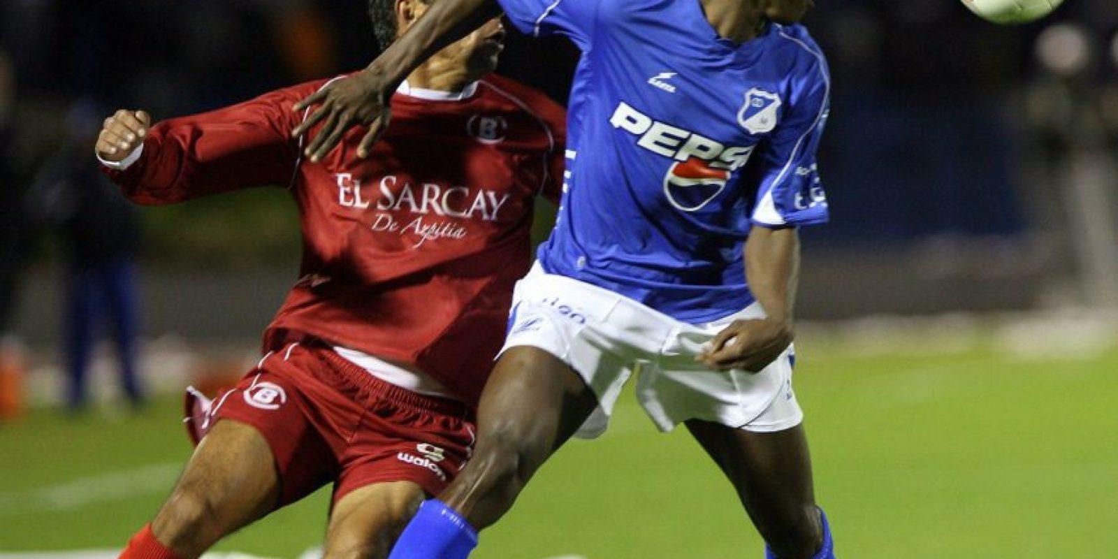 Con Millonarios disputó la Copa Sudamericana 2007, en la que llegó a semifinales Foto:EFE