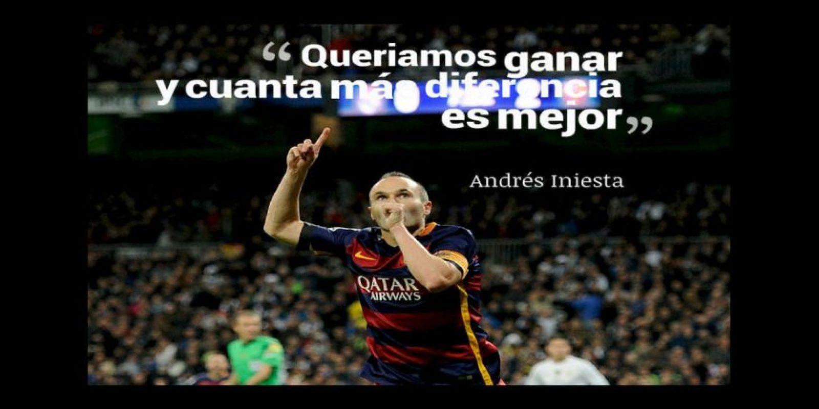 Andrés Iniesta, capitán del Barcelona Foto:Getty Images