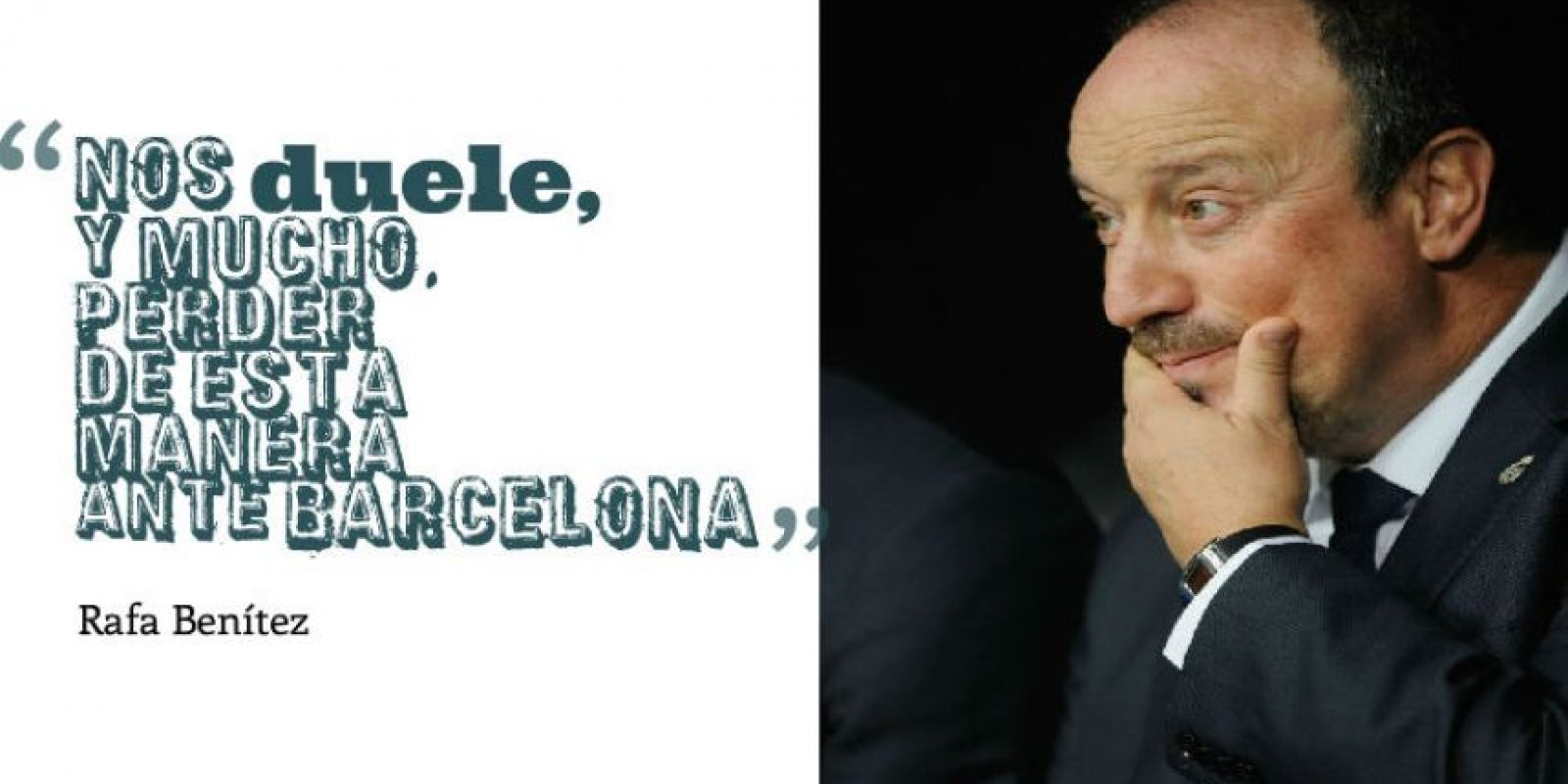 Rafa Benítez, DT de Real Madrid Foto: Getty Images