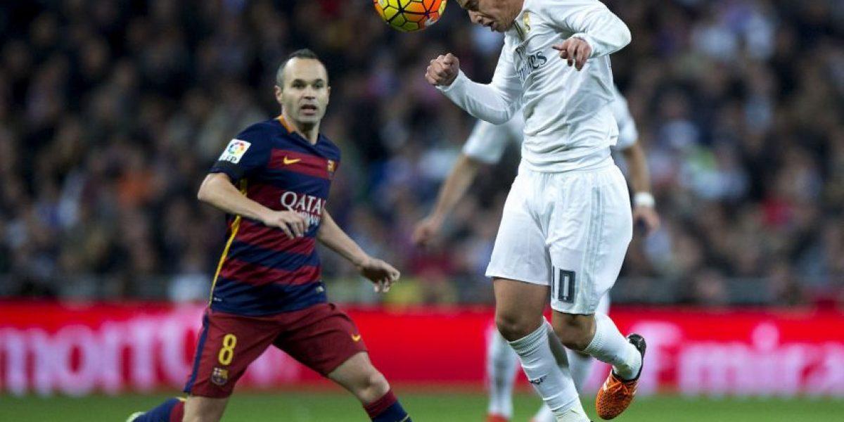 El día que Andrés Iniesta fue igual que Ronaldinho en el Santiago Bernabéu