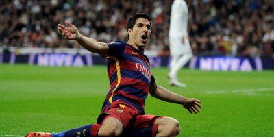 Luis Suárez se encargó de abrir y cerrar la goleada Foto:Getty Images