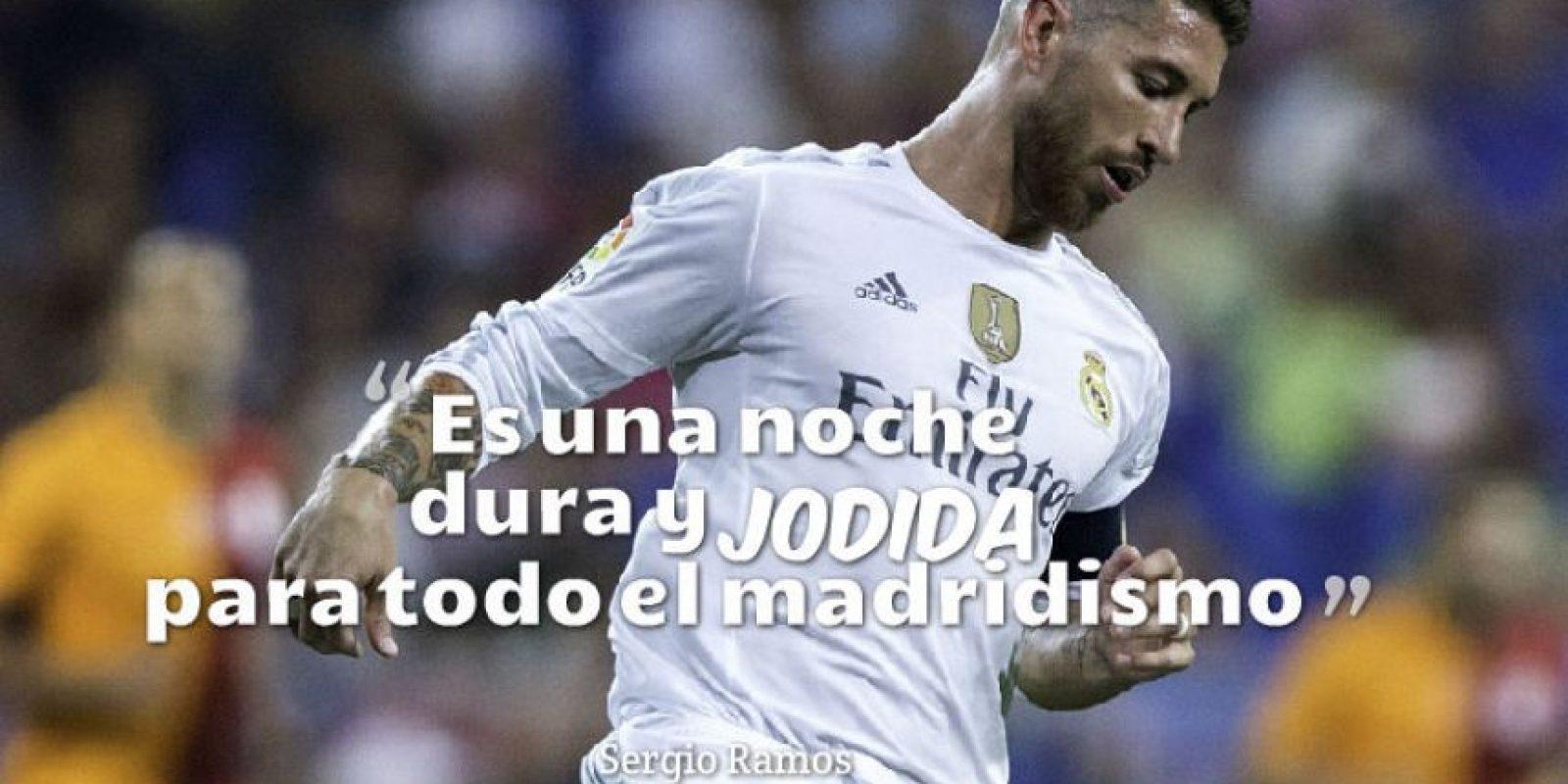 Sergio Ramos, capitán del Real Madrid. Foto:Getty Images