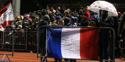 Durante el Campeonato Europeo de Rugby en Francia. Foto:Getty Images