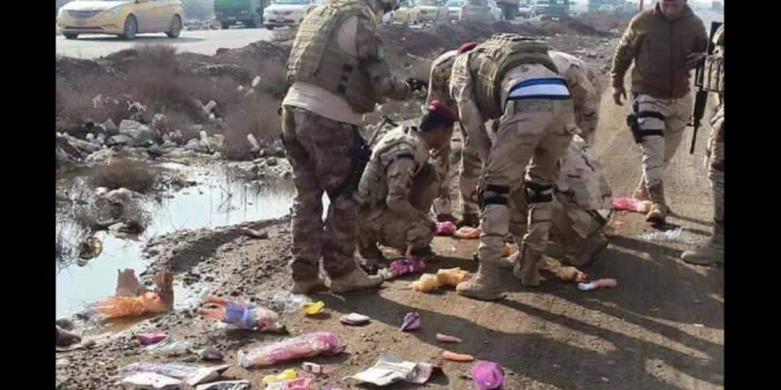 """El Estado Islámico busca la manera de eliminar a sus """"enemigos"""" Foto:Vía Twitter @green_lemonnn"""
