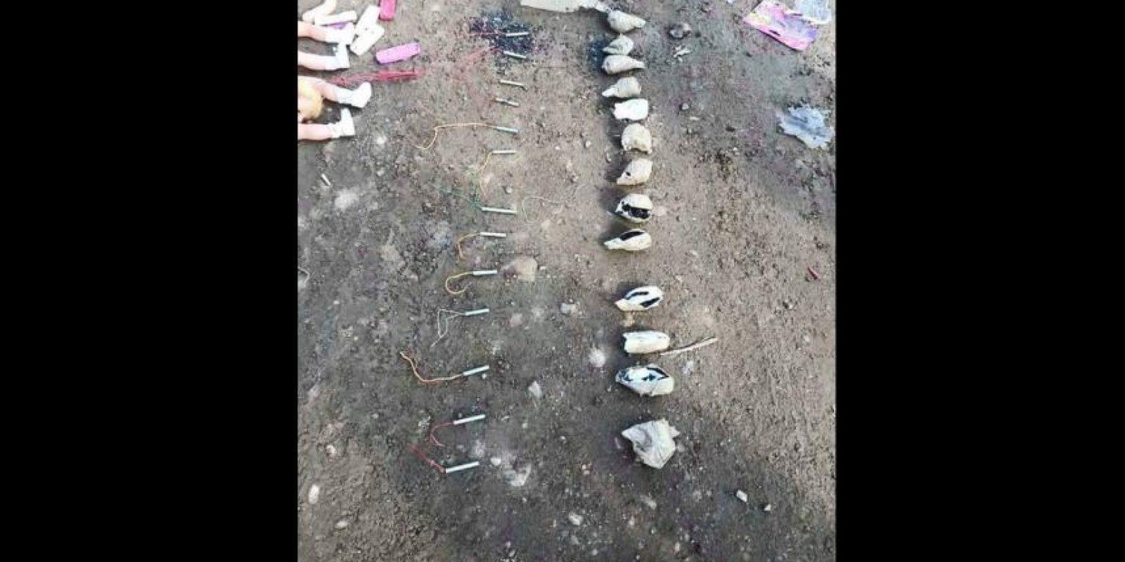 Todos los explosivos estaba escondidos dentro de las muñecas Foto:Vía Twitter @green_lemonnn