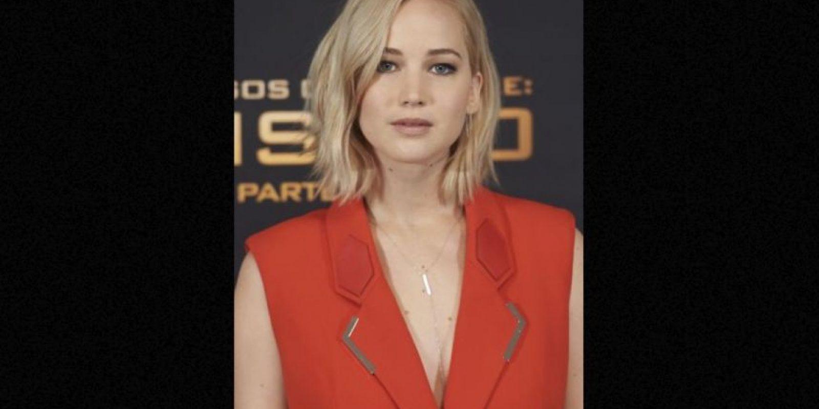 En todas la protagonista fue la actriz Jennifer Lawrence. Foto:Getty Images