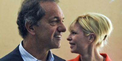"""Daniel Scioli, candidato oficialista del """"Frente para la Victoria"""" Foto:AFP"""