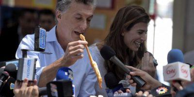 """Mauricio Macri, candidato opositor de la alianza electoral """"Cambiemos"""" Foto:AFP"""