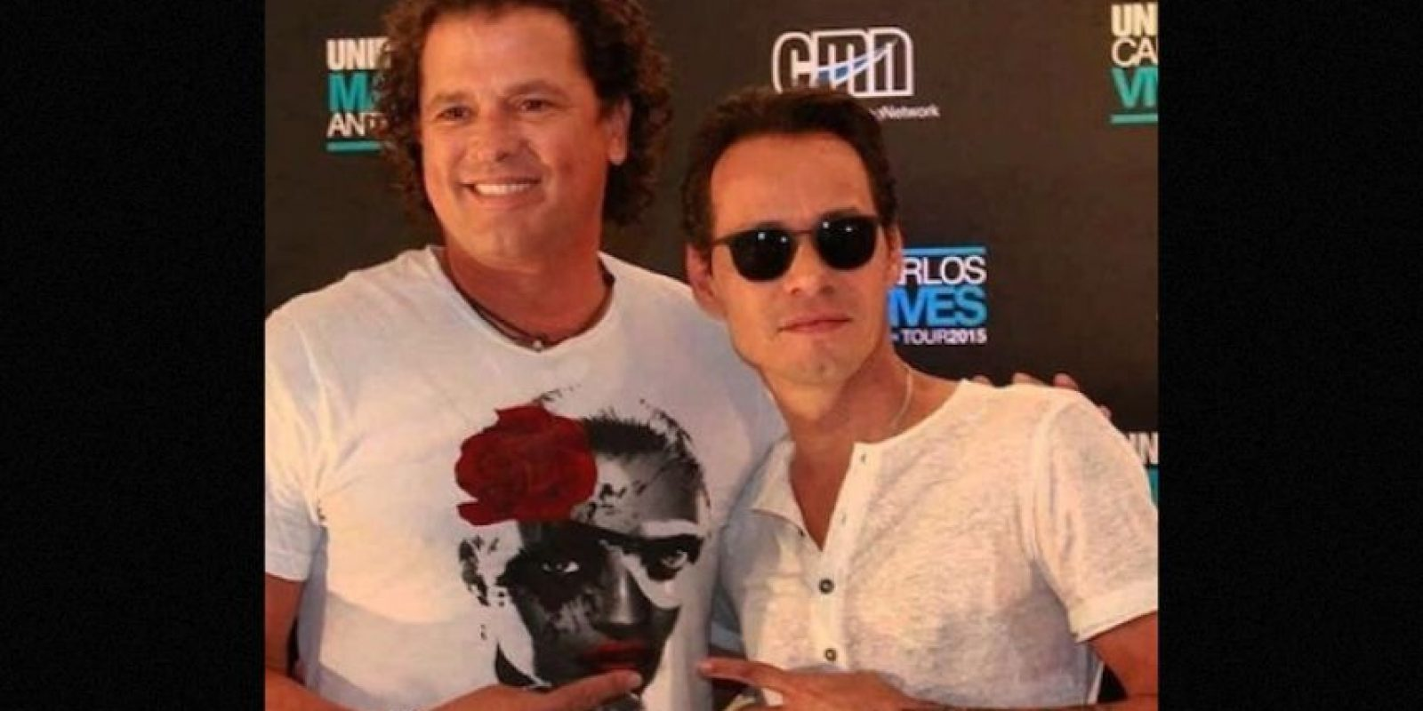 Carlos Vives y Marc Anthony Foto: Instagram/marcanthony