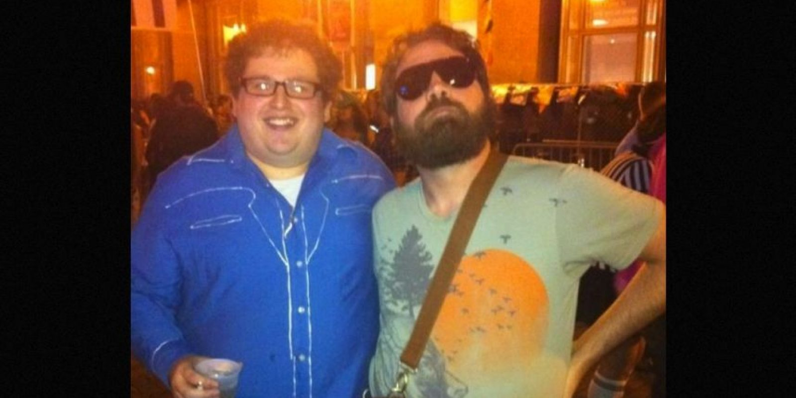 Iguales a Zach Galifianakis y Jonah Hill F Foto: Reddit/Getty