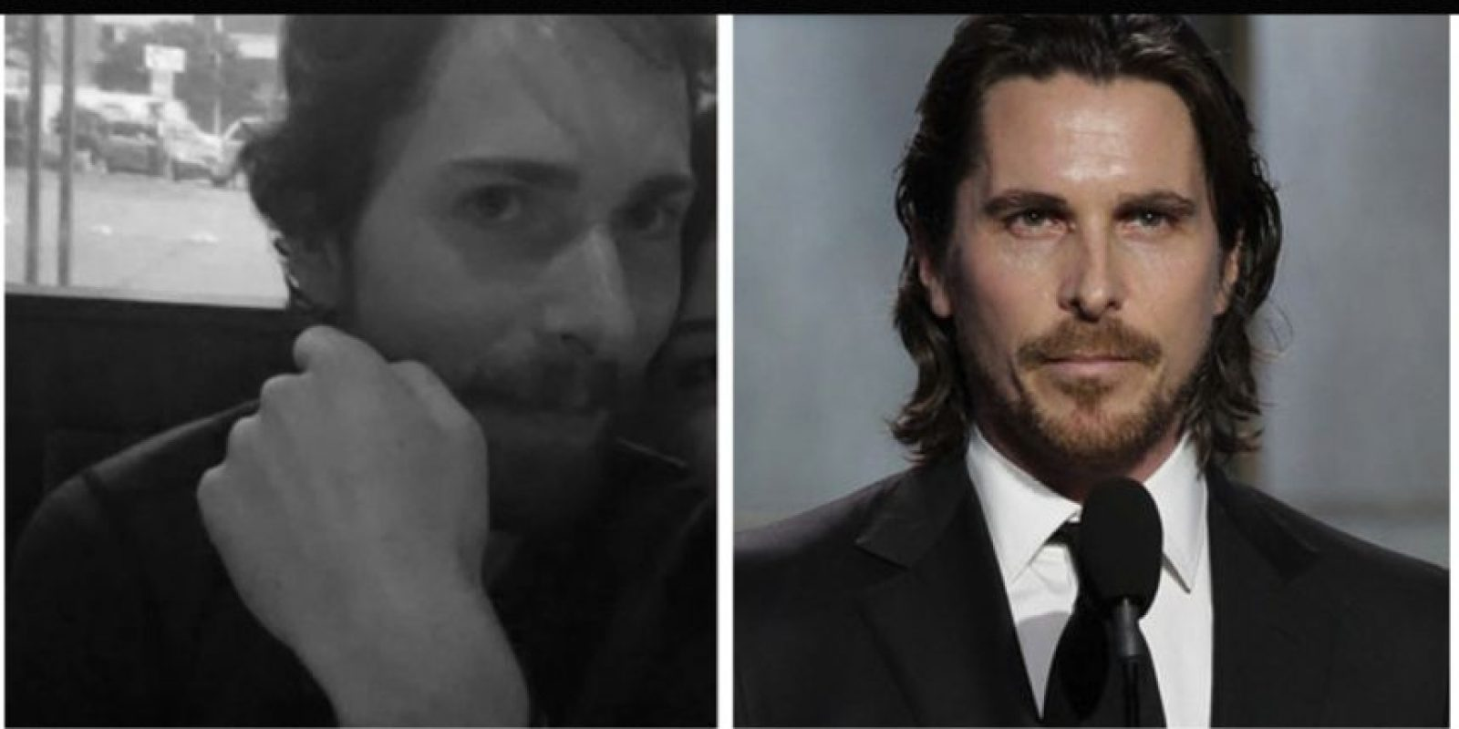 Igual a Christian Bale Foto: Reddit/Getty