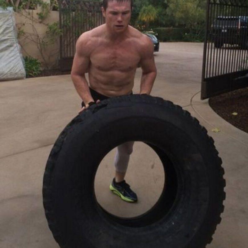 """11. En tanto, el """"Canelo"""" no conoció la derrota hasta su pelea 44 ante Floyd Mayweather, en 2014 Foto:Vía instagram.com/canelo"""