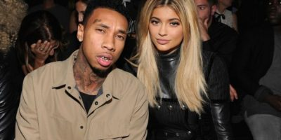 Kylie Jenner y Tyga Foto:Getty Images
