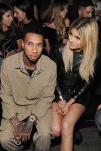 Así lucía Kylie Jenner y Tyga Foto:Getty Images
