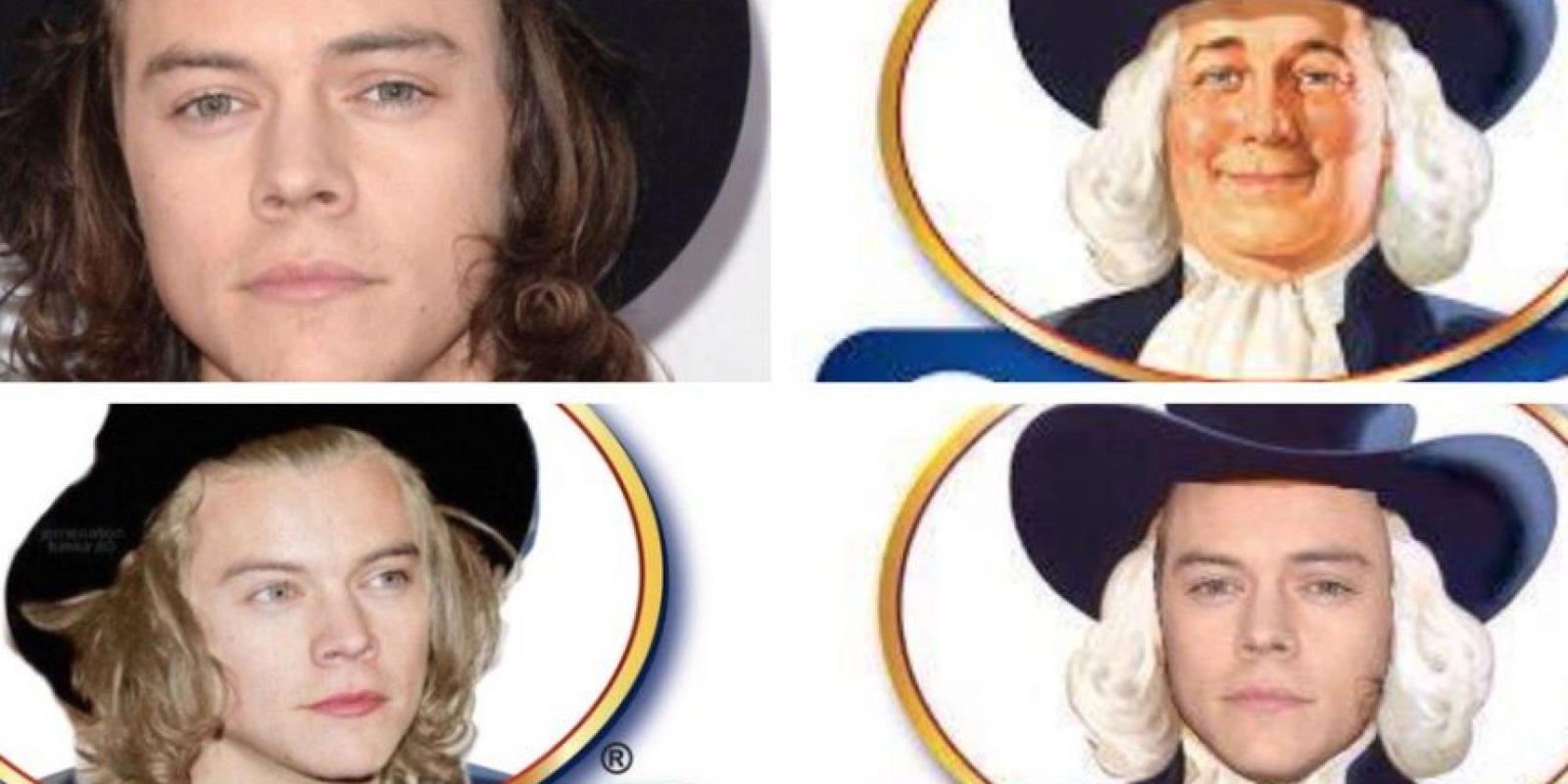 También su sombrero les recordó a Quaker. Foto:Vía Twitter