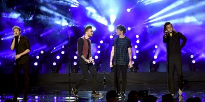 "Durante la gala, One Direction interpretó ""Perfect"", su último sencillo de ""Made in the A.M"". Foto: Getty Images"