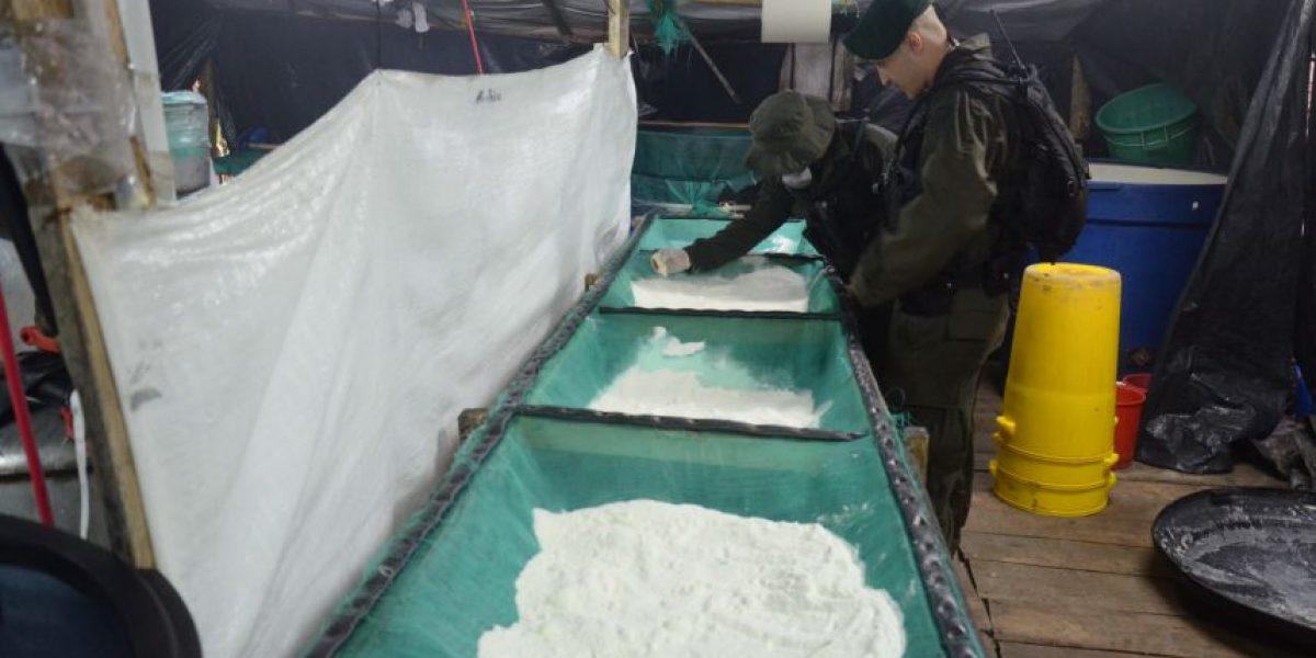 Desmantelado laboratorio en Barbosa que produciría 200 kilos de cocaína