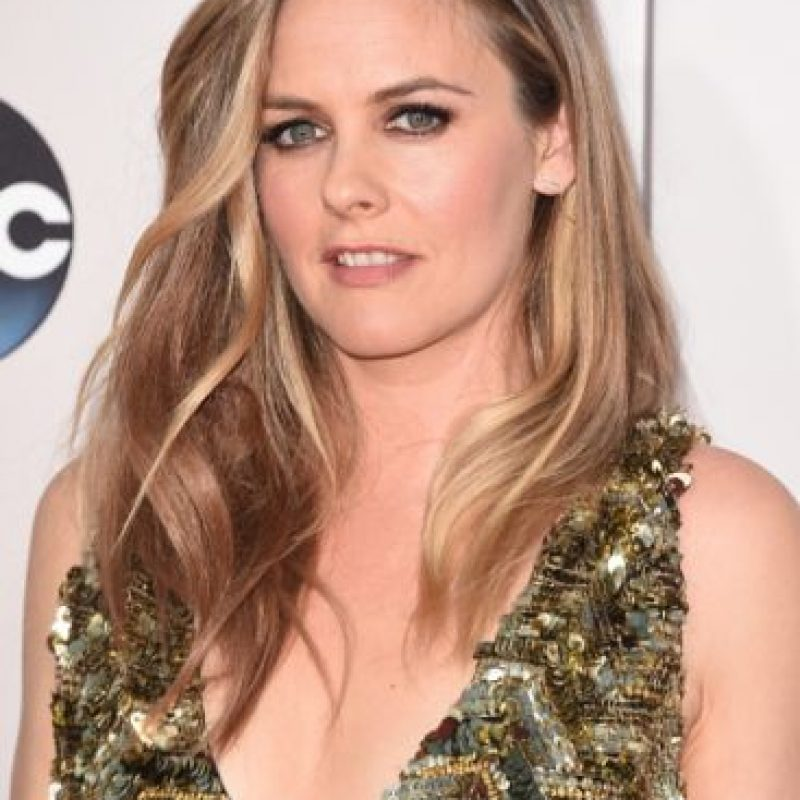Alicia Silverstone lució este escote Foto: Getty Images