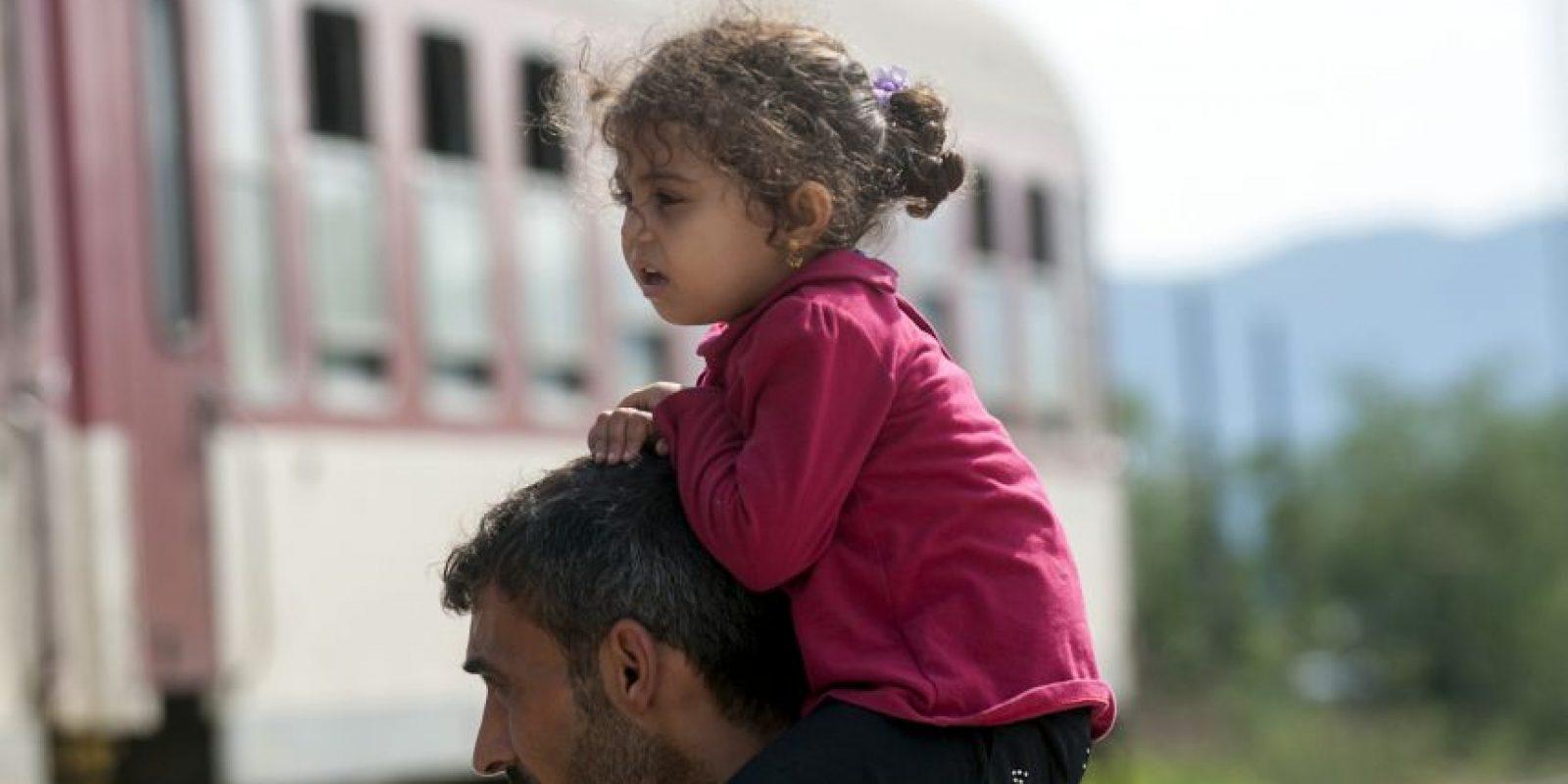 La falta de espacio en los albergues de las rutas que usan los migrantes también ha influido. Foto:AFP