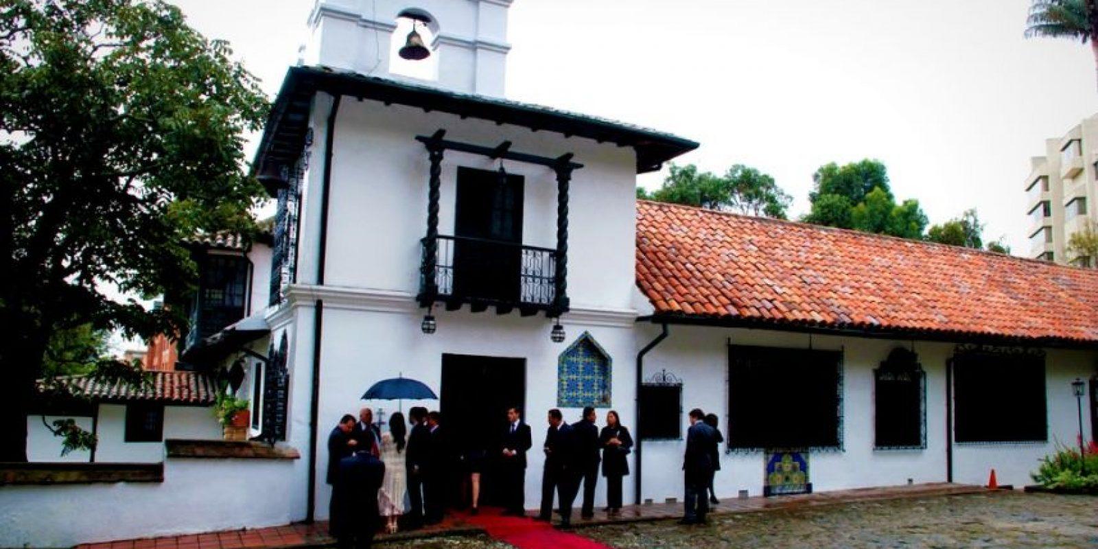 Capilla del Museo del Chicó Foto:fullbodas.com