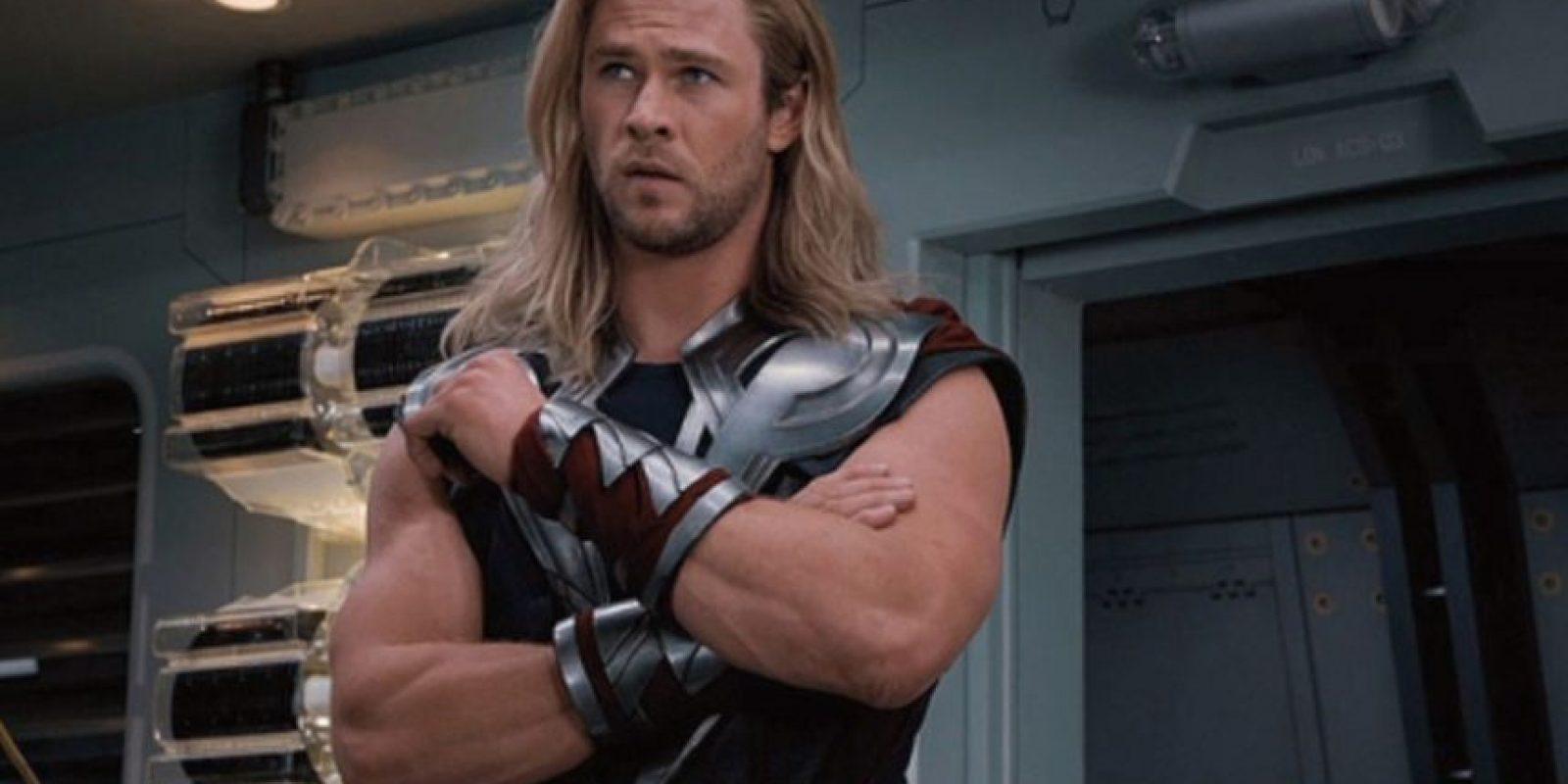 """El actor saltó a la fama por interpretar al superhéroe """"Thor"""" de Marvel Cómics. Foto:IMDB"""
