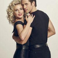 Julianne Hough y Aaron Tveit Foto:Facebook/Grease