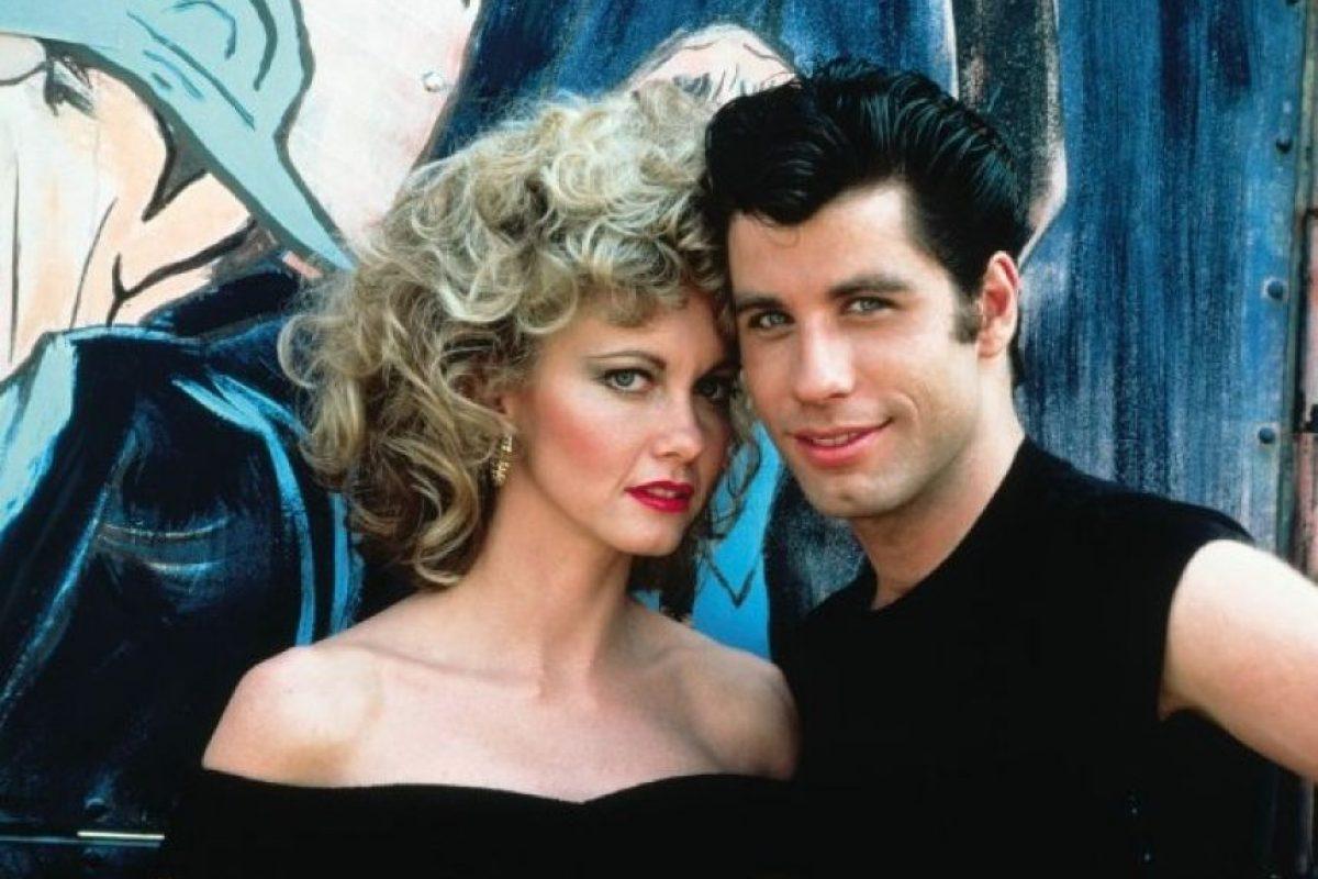 """El romance entre """"Sandy"""" y """"Danny"""" conquistó a más de una generación. Foto:IMDb"""
