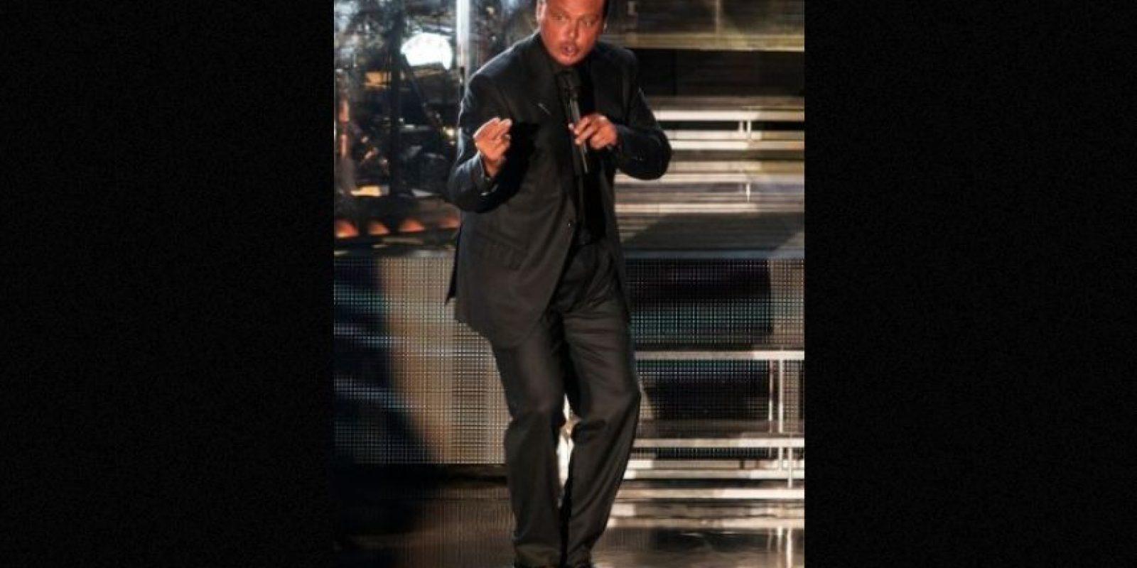 """ENERO: El cantante se presentó en el Auditorio Nacional de la Ciudad de México con el tour """"Déjà vu"""". Foto:Grosby Group"""