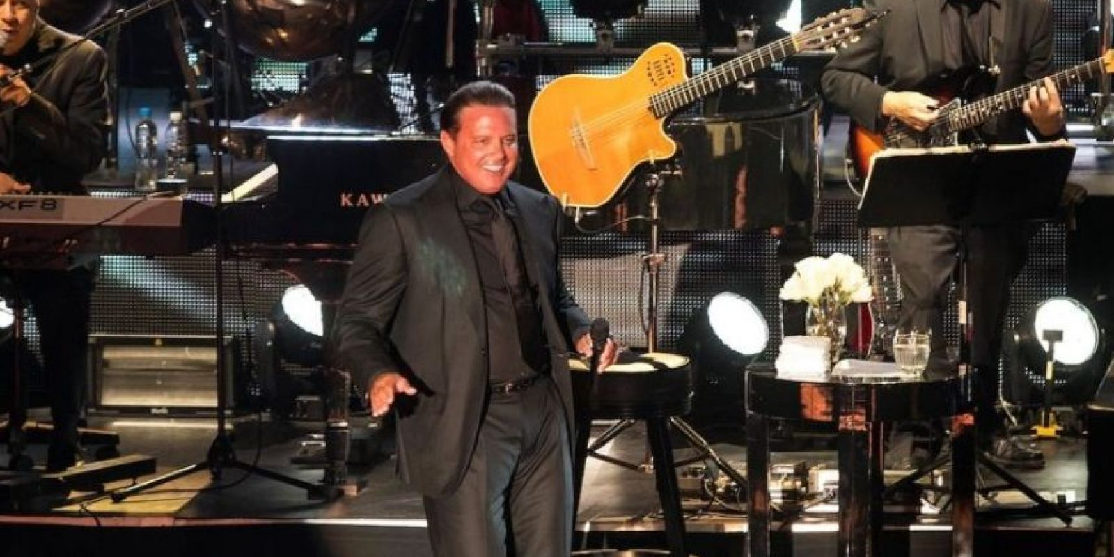 SEPTIEMBRE: Durante su show en Las Vegas, el cantante estaba más que preparado para entregarse a su público, pero al recinto solo llegaron el 60% de las personas. Foto:Grosby Group