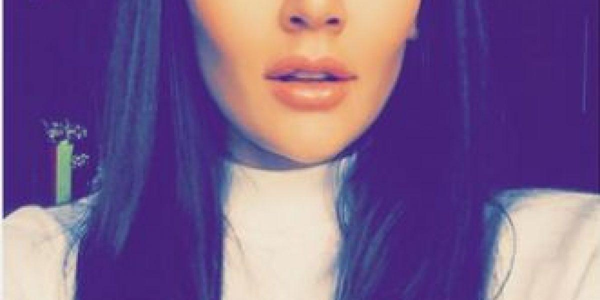 Lina Tejeiro: irreconocible por el exceso de maquillaje