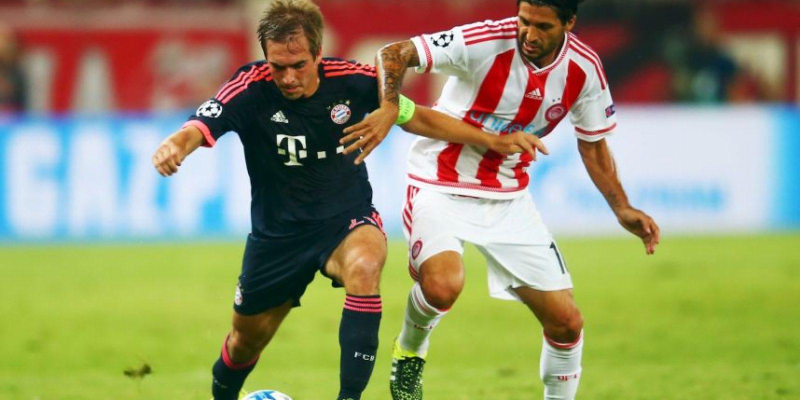 7. Bayern Múnich y Olympiakos se juegan la cima del Grupo F Foto:Getty Images