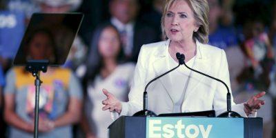 Algunas encuestas la señalan en la primera posición de los precandidatos del Partido Democrata. Foto:Getty Images